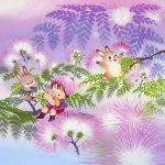 夜に眠る花!?ねむの木の花言葉、英語名とは?